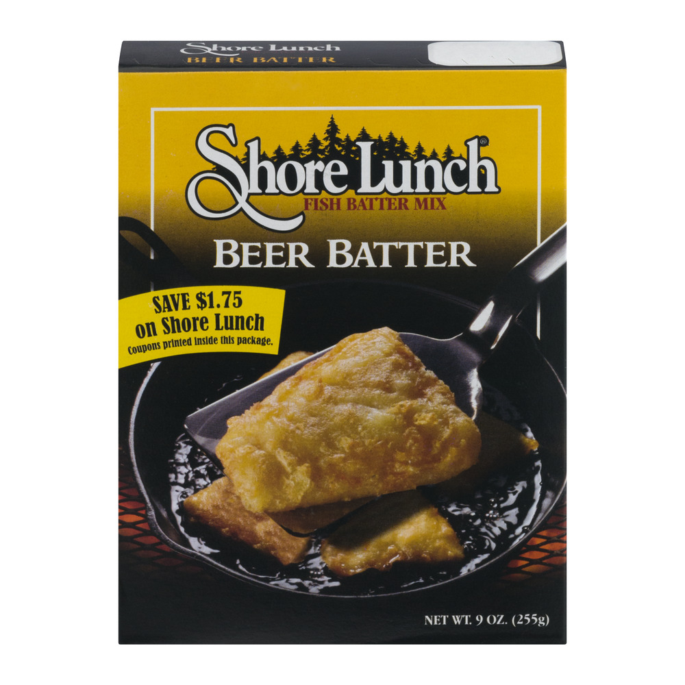 Shore Lunch Fish Batter Mix Beer Batter, 9.0 OZ