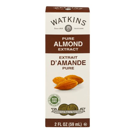 (2 Pack) Watkins Pure Almond Extract, 2 fl oz