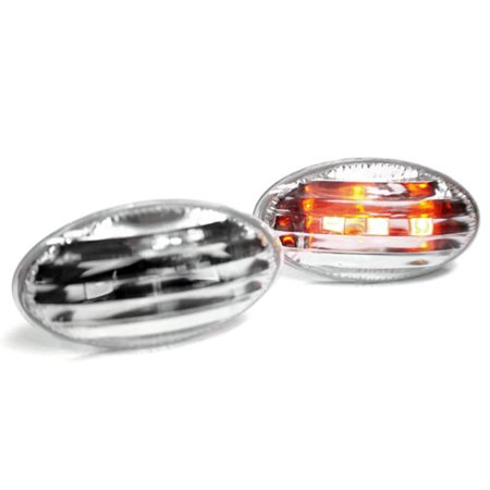 - 01-06 MINI COOPER / COOPER S LED SIDE MARKER LIGHTS - CRYSTAL CLEAR