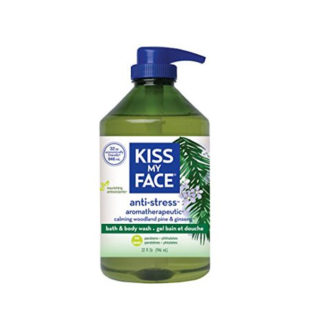 Natural Bath and Body Wash Anti-Stress Aromatherapeutic 32 oz.