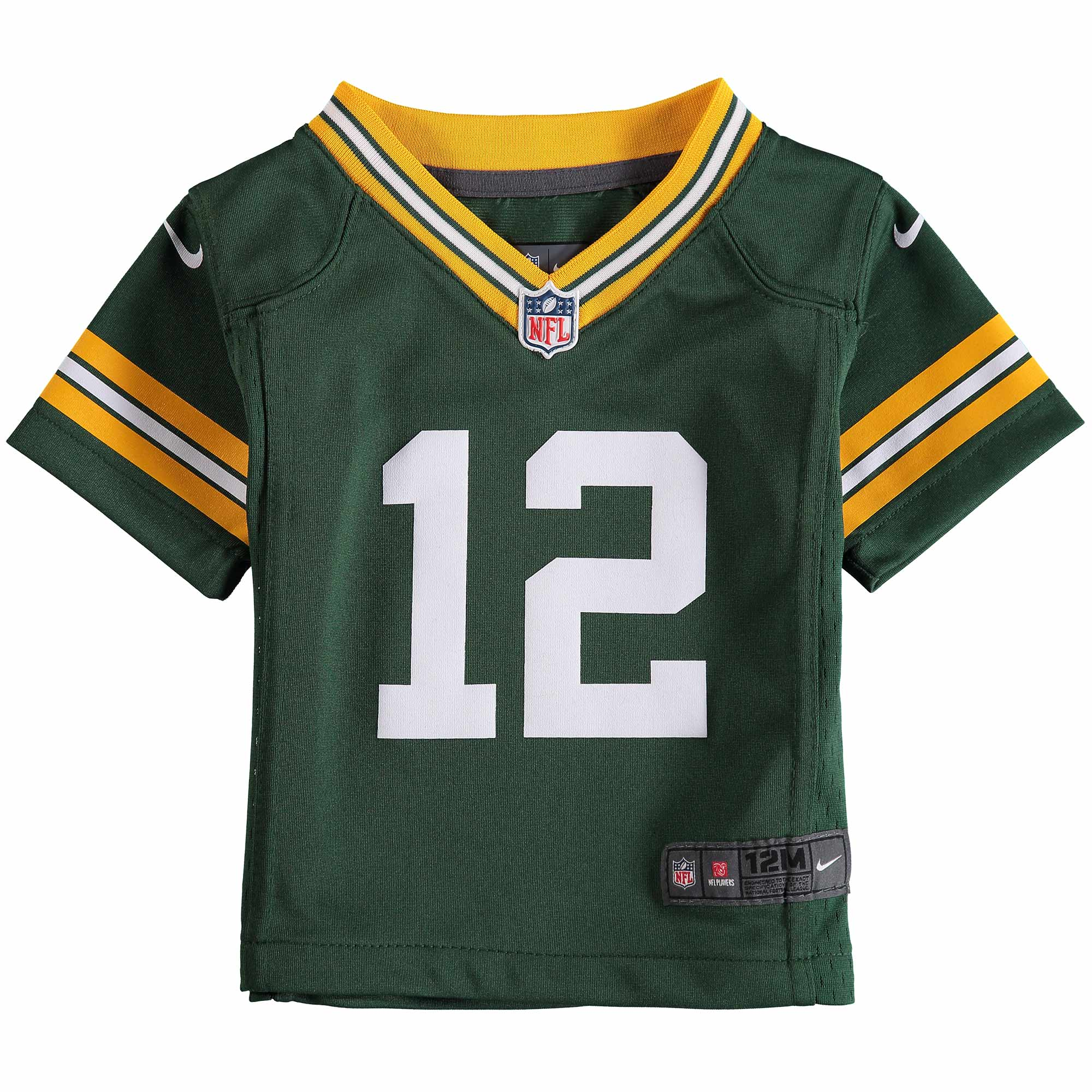 Aaron Rodgers Green Bay Packers Nike Infant Team Color Game Jersey - Green  - Walmart.com e531c08d5