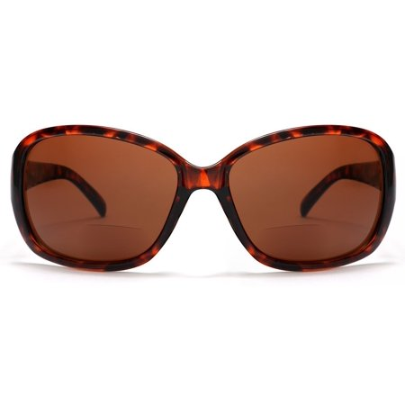 Women's BiFocal Sun Readers Fashion Sunglasses Snooki Poof Nation Sun Readers Tortoise - 1.5 / (Snooki Shades)