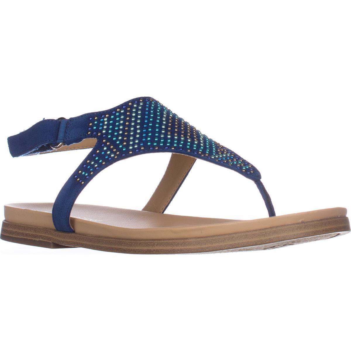 Womens Flats naturalizer Kelsie Flats Womens Sandals - Oceanic Blue 1756ea