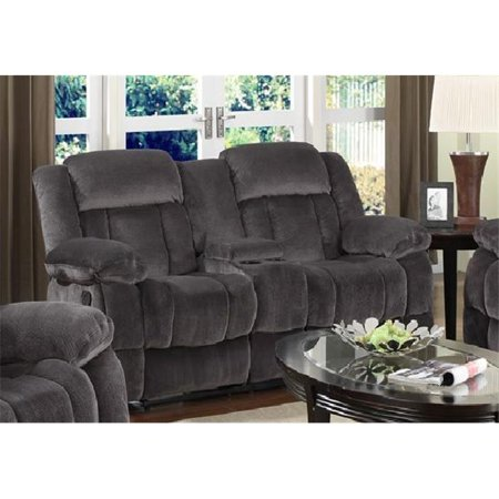 Sunset Trading Madison Reclining Loveseat with Console ()