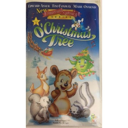 O' Christmas Tree(VHS,1999)Edward Asner, Tim Conway-TESTED-RARE-SHIPS N 24 HOURS ()