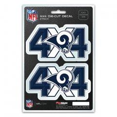Los Angeles Rams 4x4 Decal Pack