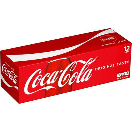 Coca Cola Soda  12 Fl Oz  12 Count