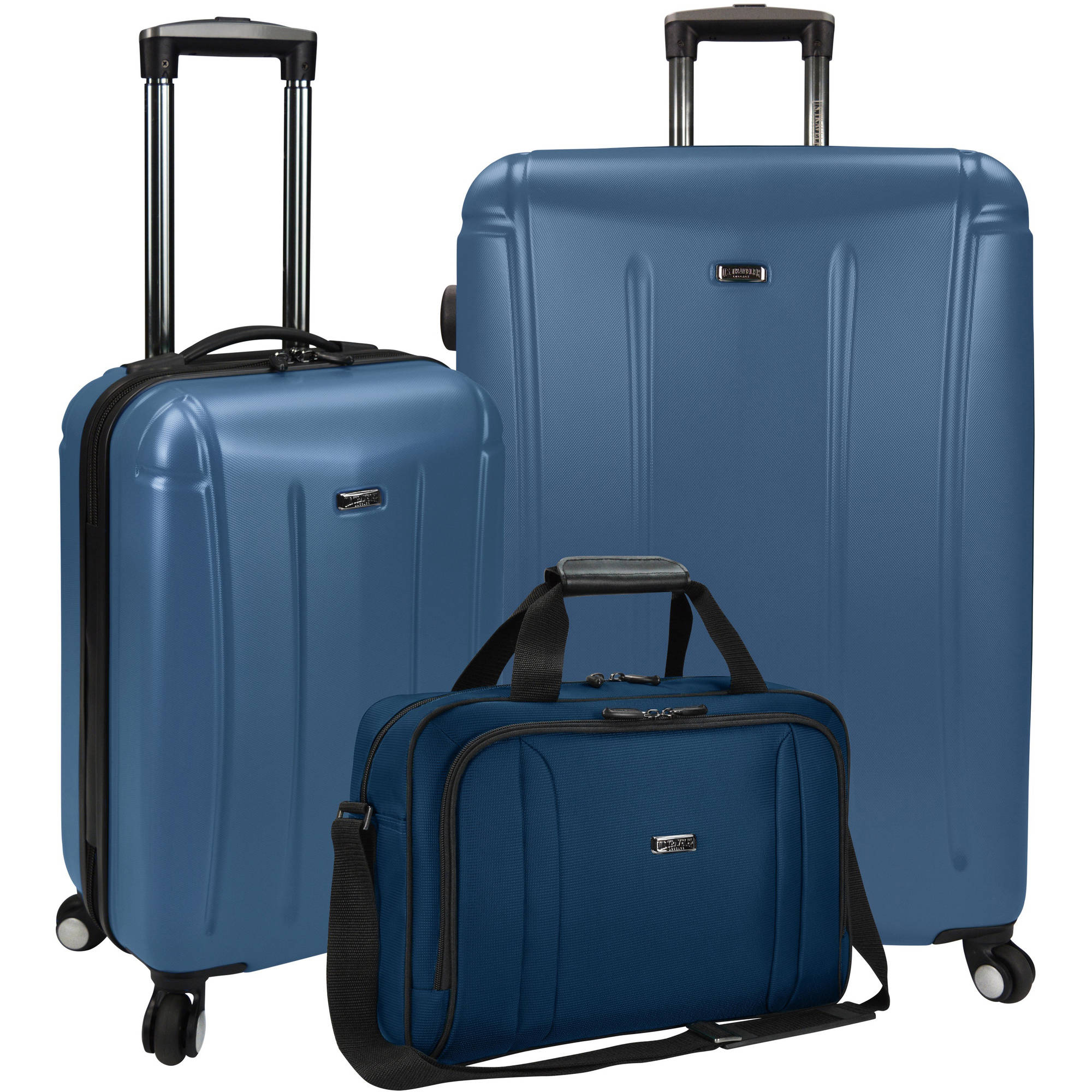U.S. Traveler Hytop 3-Piece Spinner Luggage Set