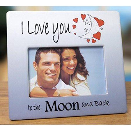 I Love You to the Moon and Back Picture Frame ()