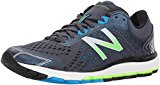 New Balance Men's 1260V7 Running Shoe, Grey/Black, 10 D US