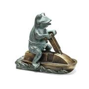 San Pacific International Jetski Frog Garden Statue