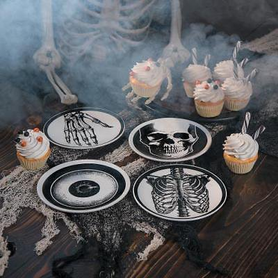 Mini Vintage Ceramic Plates Halloween Decor (Halloween Plates Ceramic)