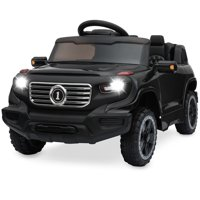 Best Choice Products Kids 6V Ride On Truck w/ Parent Remote Control, 3 Speeds, LED Lights, Pink