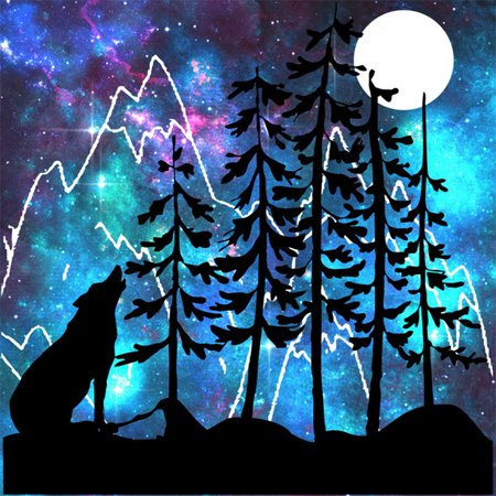 5D DIY Diamond Painting Kit Embroidery Cross Stitch Rhinestone Decoration Canvas Wall Home Office Decor Drawing Gift Style 2 Wolf Howl - Wolf Needlepoint Kit