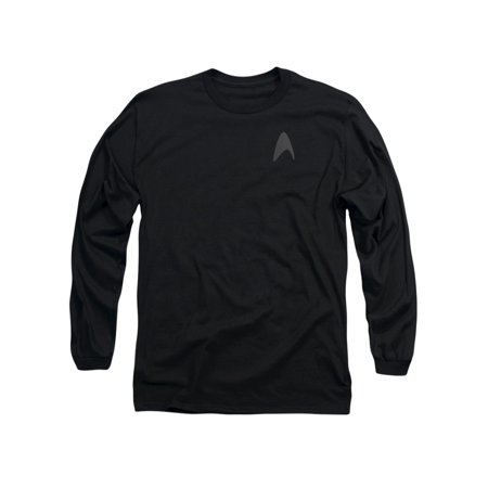 Star Trek Darkness Kirk Command Logo Uniform Costume Adult L-Sleeve T-Shirt (Star Trek Uniform Buy)