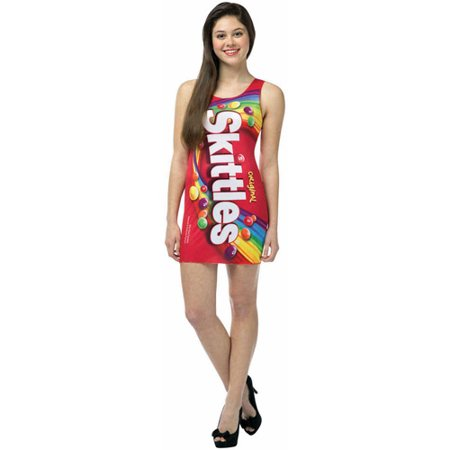 Skittles Tank Dress Teen Halloween - Top Ten Halloween Costumes