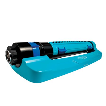 Sun Joe SJI-TLS18 Turbo Oscillation Lawn Sprinkler | 3-Way Oscillation · Range/Width/Flow Control · Waters to 4500 Sq Ft