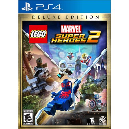 Lego Marvel Super Heroes 2 Deluxe Edition (PS4) Warner Bros.