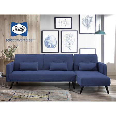 Sealy Jenna Sectional Convertible Sofa - Walmart.com