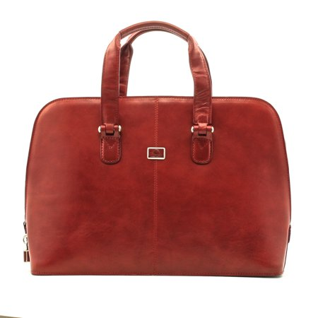 Tony Perotti Classic Zip-Around Womens Leather Laptop (Best Classic Handbags 2019)
