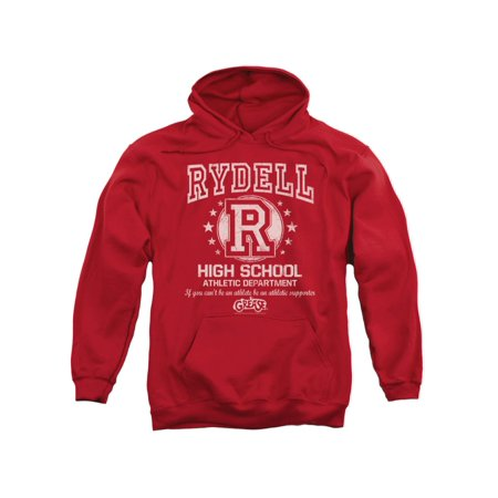 Grease Movie Rydell High Adult Pull-Over Hoodie - Grease Rydell High