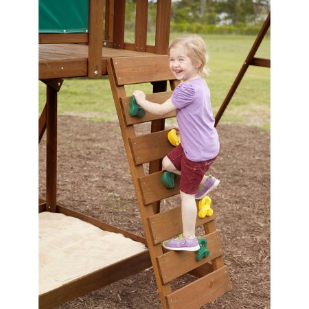 Big Backyard Windale Wooden Cedar Swing Set Image 3 Of 8
