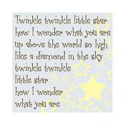 Forest Creations Twinkle Twinkle Little Star Kids Canvas Art