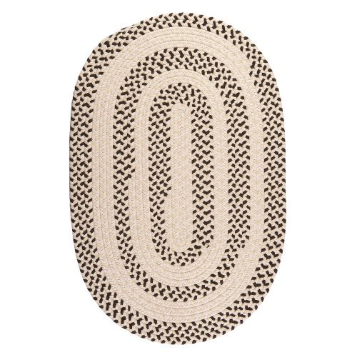 Colonial Mills EM99R Elmwood Braided Rug - Bark