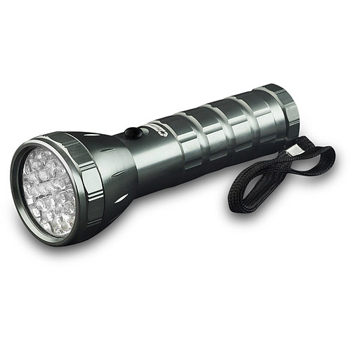 GoGreen Power 28 LED Professional Flashlight, Silver