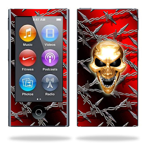 Skin Decal Wrap for Apple iPod Nano 7G 7th gen mp3 cover