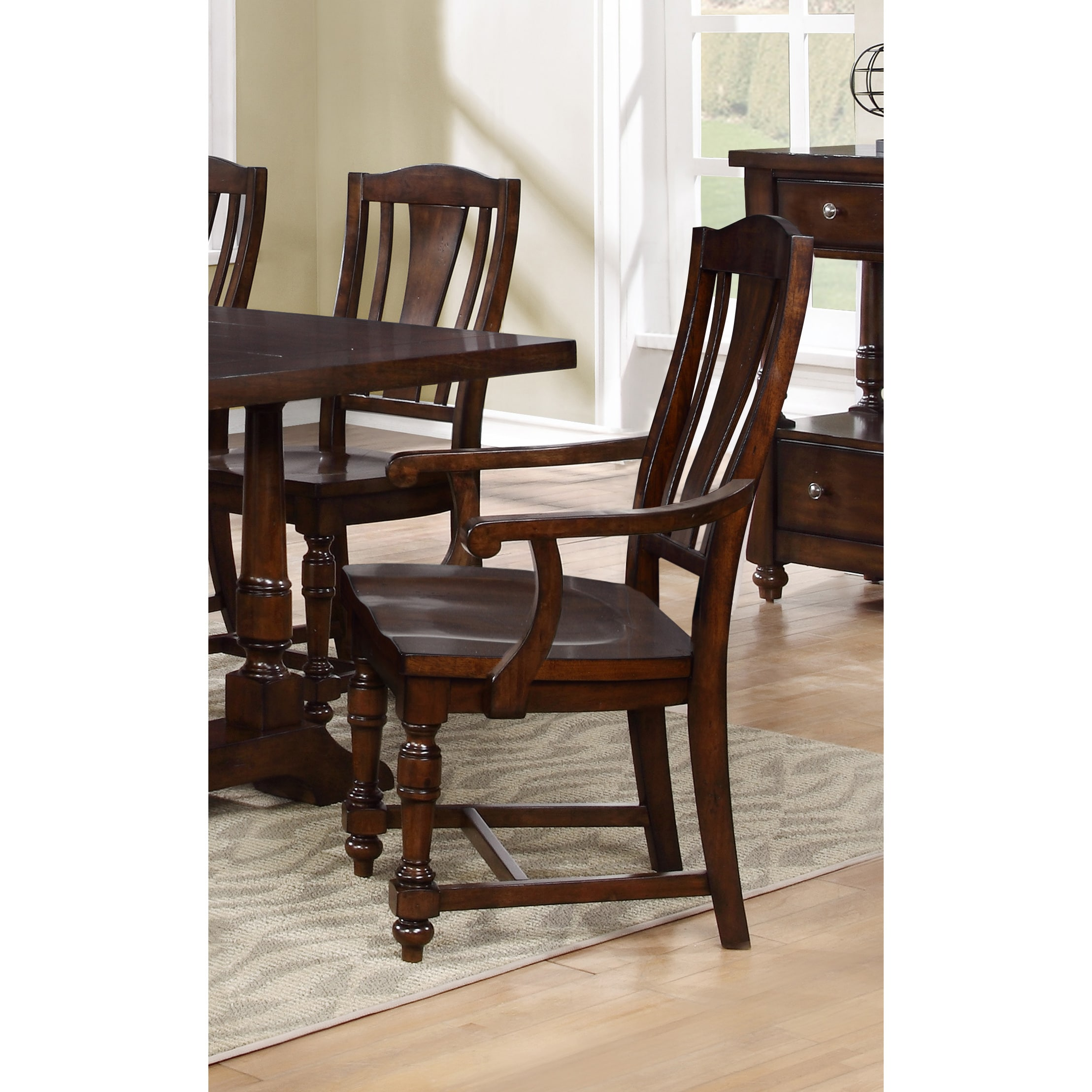 Best Master Furnitures Best Master Furniture D1970 Dining Armchairs (Set of 2) by Overstock
