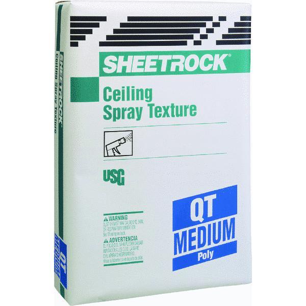 Sheetrock QT Aggregate Ceiling Spray Texture