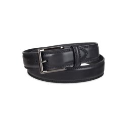 LFA Mens Center Braided Design Leather Dress Belt
