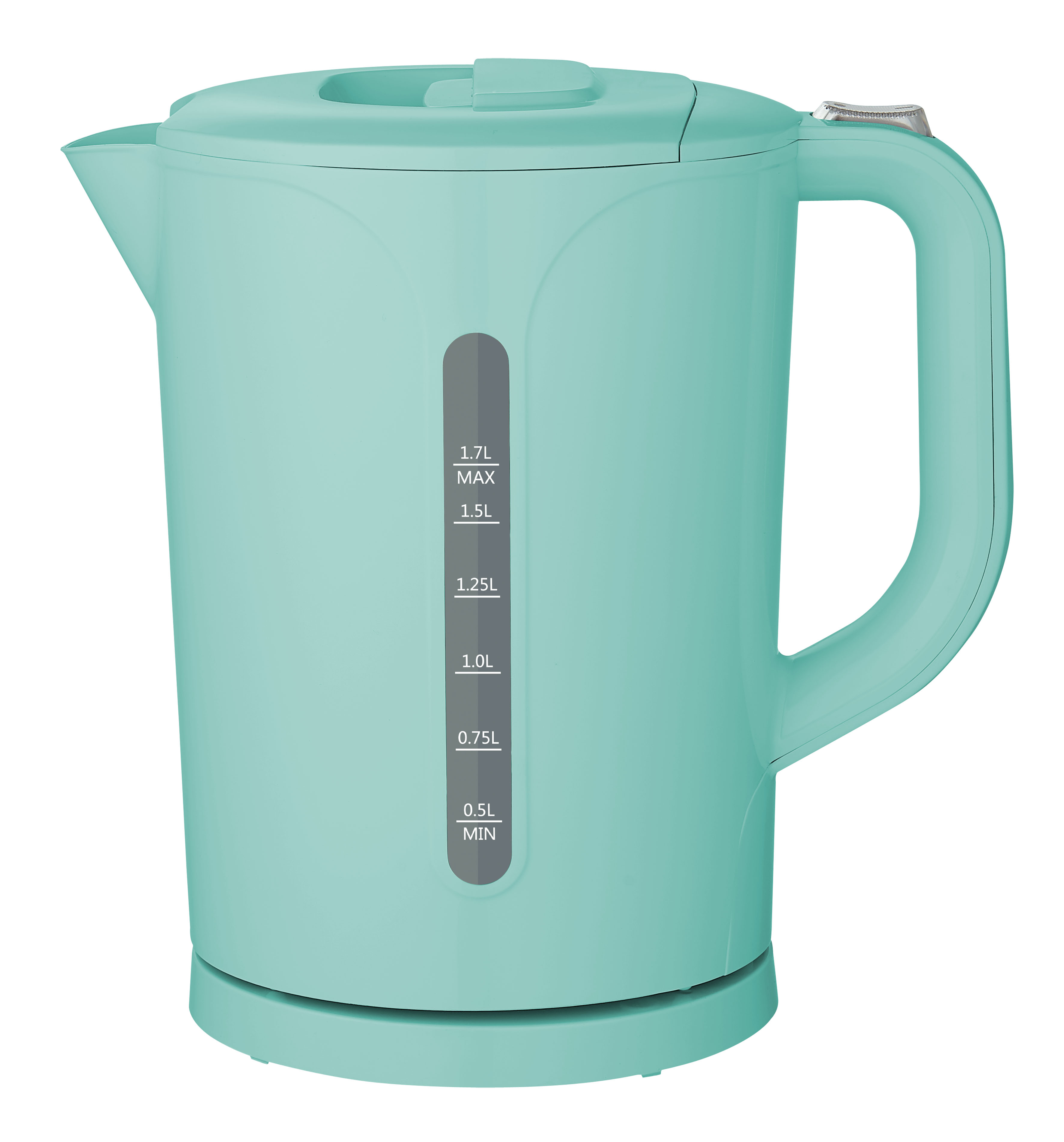 Mainstays 1.7 Liter Plastic Electric Kettle, Mint