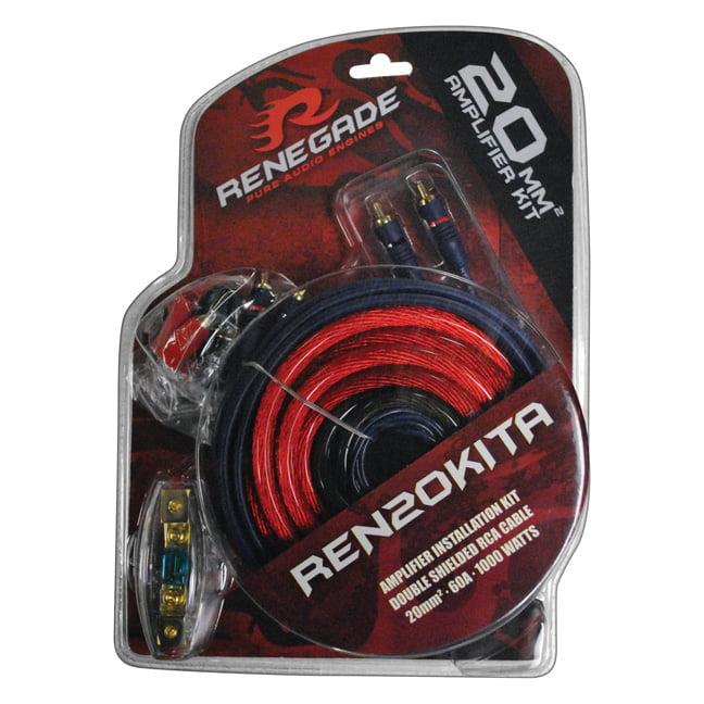 Renegade REN20KITA 4 Gauge Amp Wiring Kit