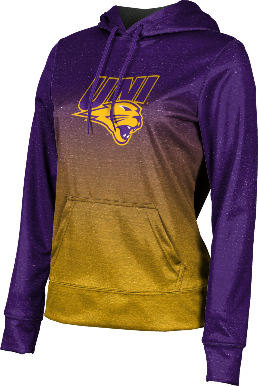 ProSphere Girls' University of Northern Iowa Ombre Pullover Hoodie