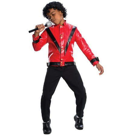 Childs Michael Jackson Thriller Jacket - Michael Jackson Makeup Halloween