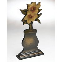 AA Importing Hand Painted Flower Sculpture Vase