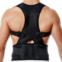 Posture Corrector for Women Men Support Magnetic Back Shoulder Brace Adjustable Belt SFC