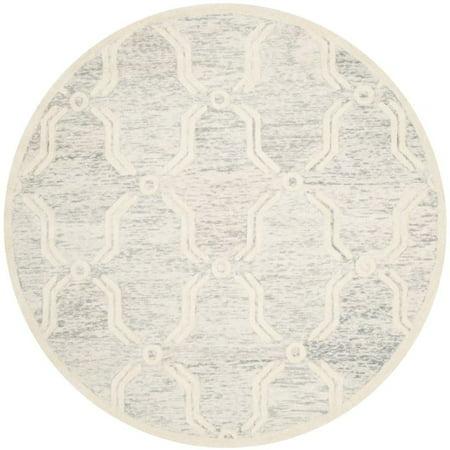 Safavieh Cambridge 6' Round Hand Tufted Wool Rug - image 10 de 10