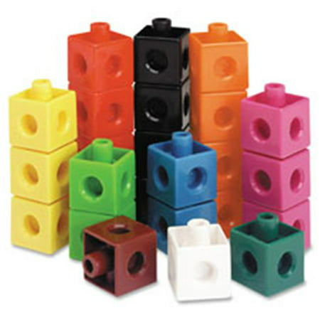 Learning Resources  Snap Cubes 100-Piece Activity Set, 100 Per (Snap Cubes)