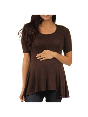 24/7 Maternity Women's 3/4-sleeve Tunic