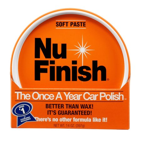 Nu Finish The Once A Year Car Polish Paste, 14 oz. paste
