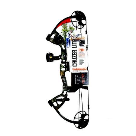 "Bear Archery Cruzer Lite 12-27"" RTH Compound Bow RH 5-45# RH Camo, A6CZL1005R thumbnail"