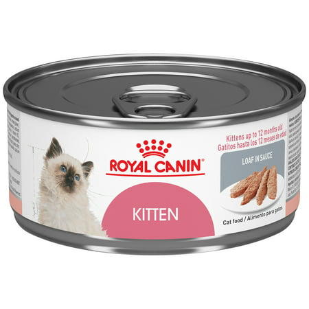 Royal Canin Feline Health Nutrition Kitten Instinctive Loaf in Sauce Kitten Wet Cat Food, 5.8 oz (Case of