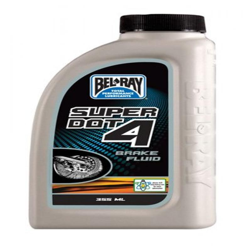 Bel-Ray Super DOT 4 Brake Fluid 355ml. 99480-B355W by Bel-Ray