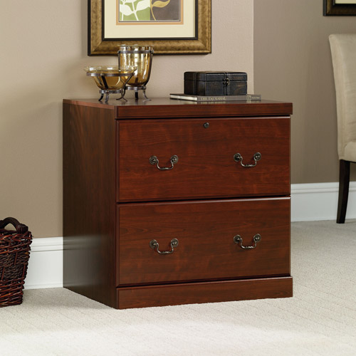 Contemporary Wood Lateral Filing Cabinets Sauder Heritage Hill File Classic For Design