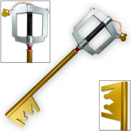 Kingdom Hearts Keyblades (Kingdom Hearts Mickey Keyblade Foam Prop Replica, Gold)