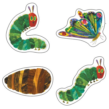 THE VERY HUNGRY CATERPILLAR 45TH ANNIVERSARY CUT OUTS - Spider Cut Outs