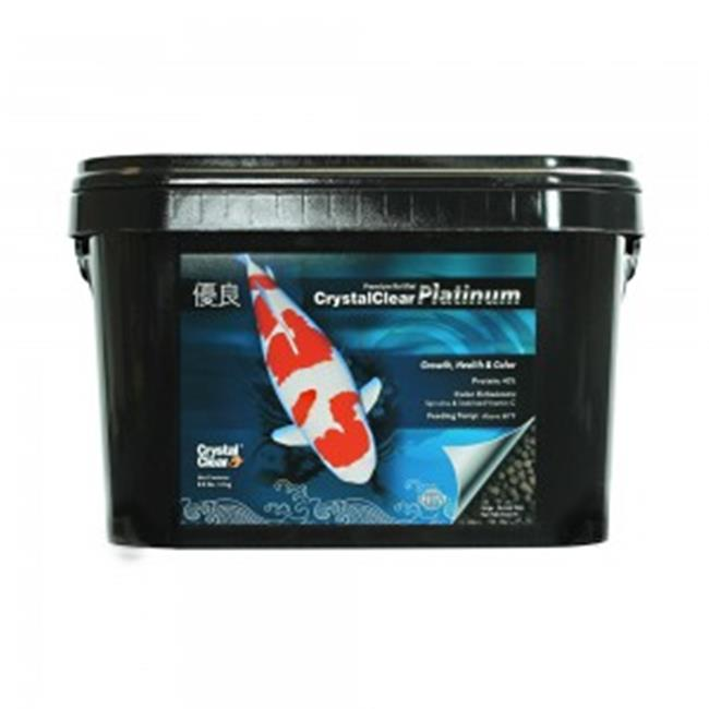 Airmax Inc. CC038-8L CrystalClear Platinum, Koi Growth, Health & Color Large Pellet by Airmax Inc.
